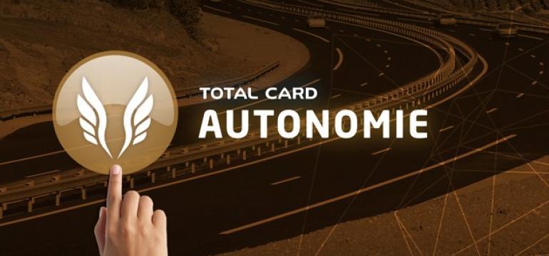Total Card Autonomie